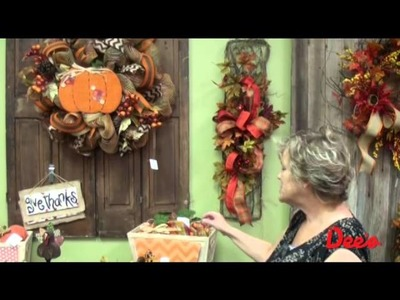 """""""Happy Fall, Y'all!"""" : Dee's Fall 2014 Seasonal Decor Tour with Lorie"""