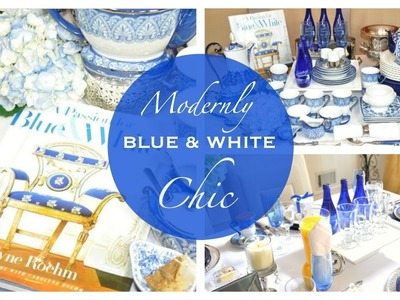 Home Decor Haul   Styling My Blue & White Thrifting & Goodwill Finds