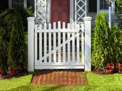 How to Build a Garden Gate - This Old House