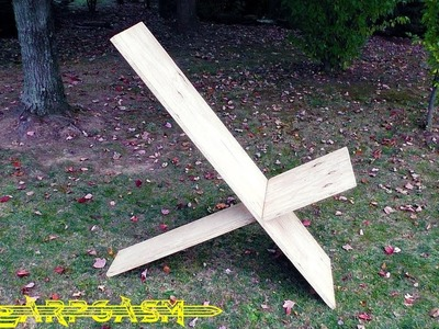 How To Build a Viking Stargazer Chair - Larp Style