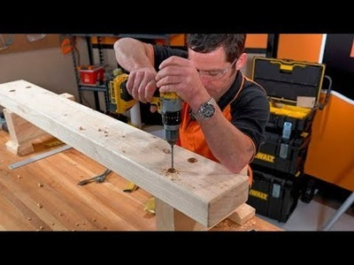 How to Build an Outdoor Bench Seat | Mitre 10 Easy As