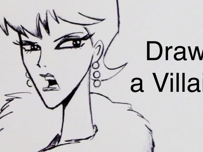 How To Draw a Villain (Step by Step)