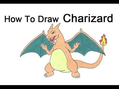 How to Draw Charizard (Pokemon)