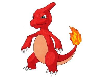 How to Draw Pokemon #005 Charmeleon