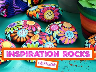 HOW TO: Floral Inspiration Rocks