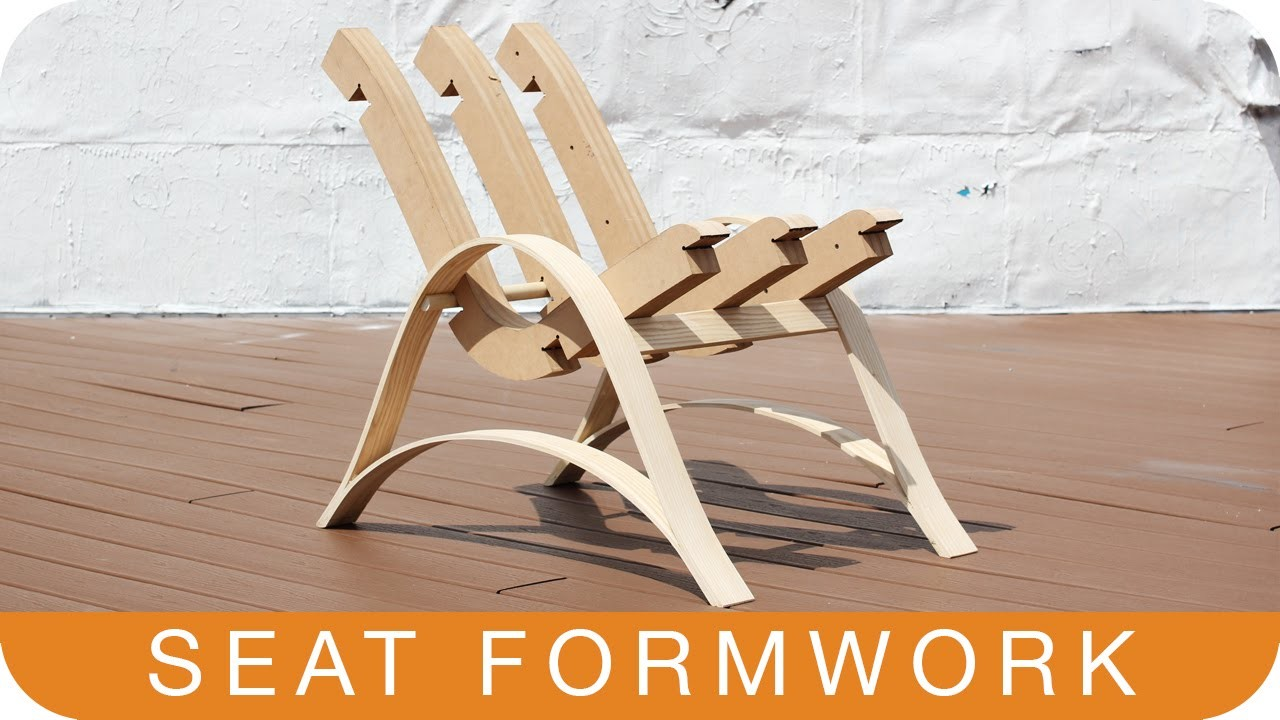 How to Make a Chair | Episode 11: SEAT FORMWORK