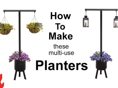 How to make a multi-use Planter Stand