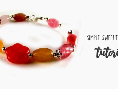How to make a simple sweetie bracelet