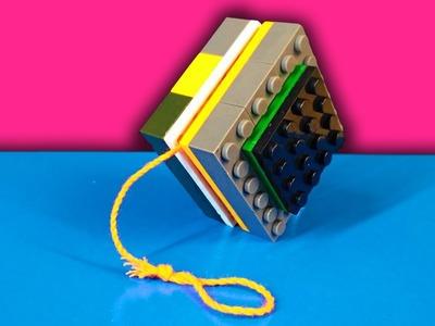 HOW TO MAKE A YO-YO TOY FROM LEGO
