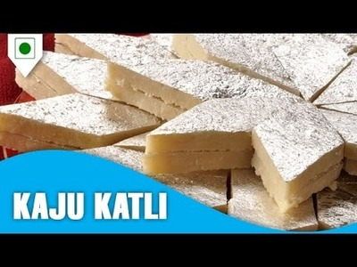 How To Make Kaju Katli | काजू कटली | Easy Cook with Food Junction
