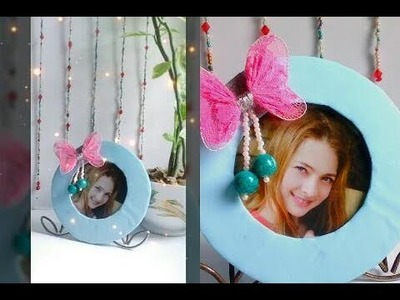 How to make photo frame with cardboard at home