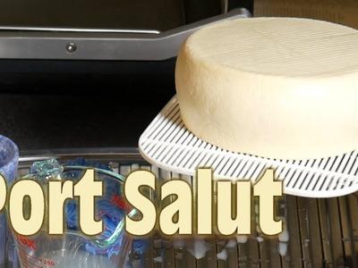 How to make Port Salut Style Cheese (aka St Paulin or Oka)