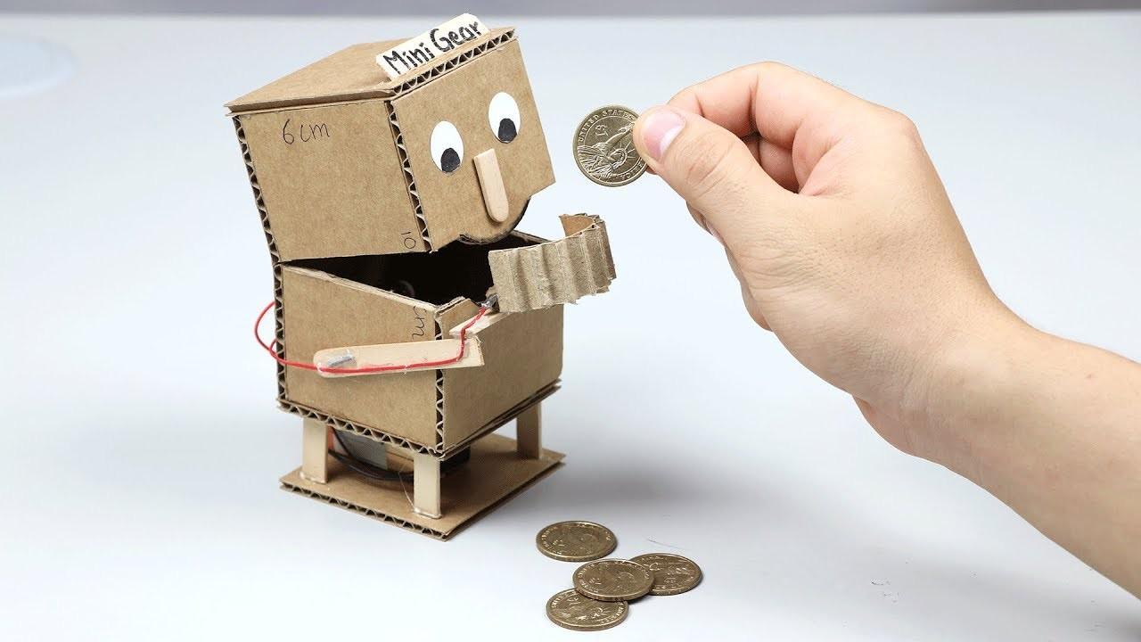 how to make amazon box robot