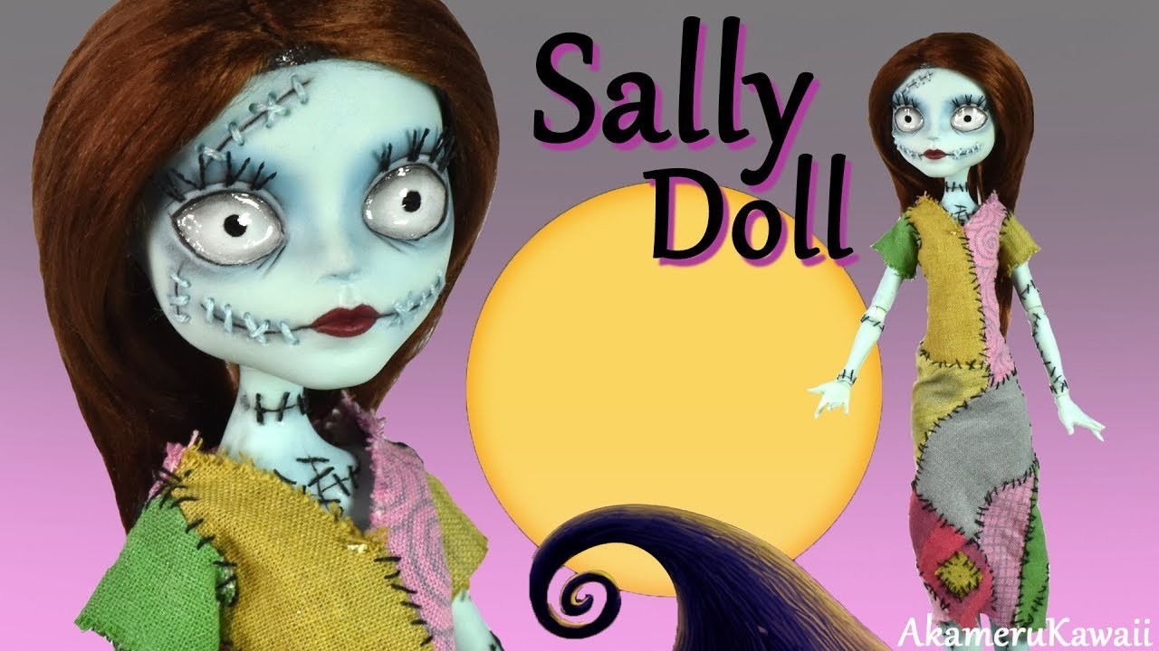 How to: Sally Nightmare before Christmas inspired Doll - Halloween ...