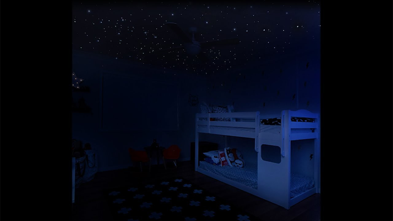 How to set up your realistic glow in the dark ceiling stars