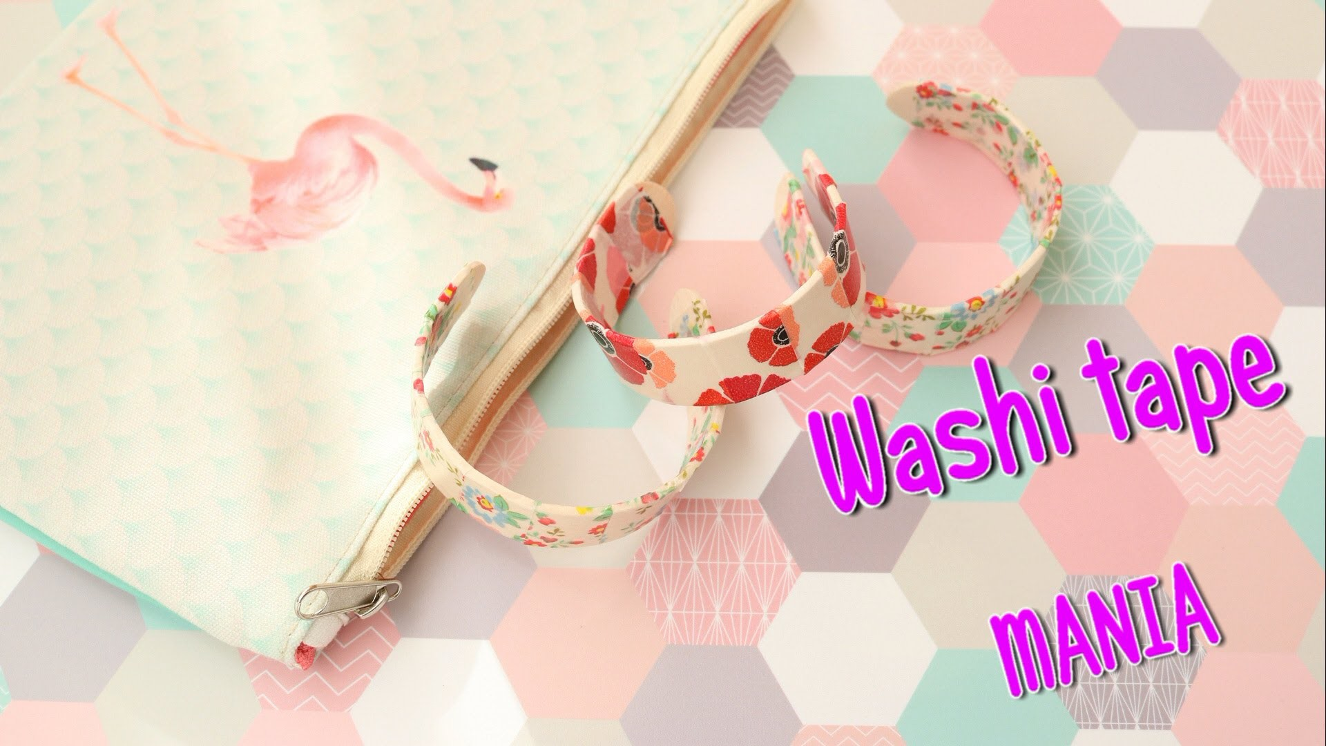 Ideas con WASHI TAPE - bracelets sticks