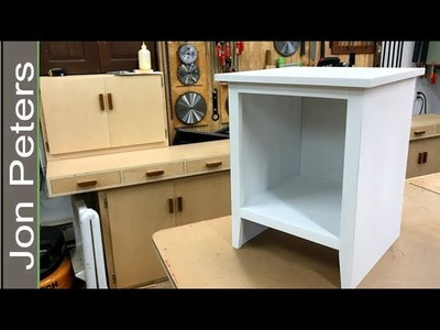 Make a Bed Side Table – End Table, Free Plans on my Site