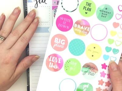 Plan With Me: No Sticker Kit