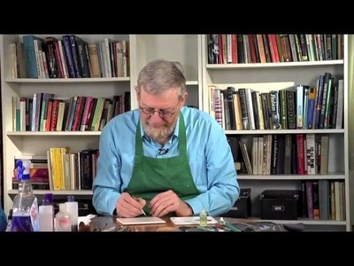 Pottery Video: How to Use Brushes for China Painting on Pottery | PAUL LEWING