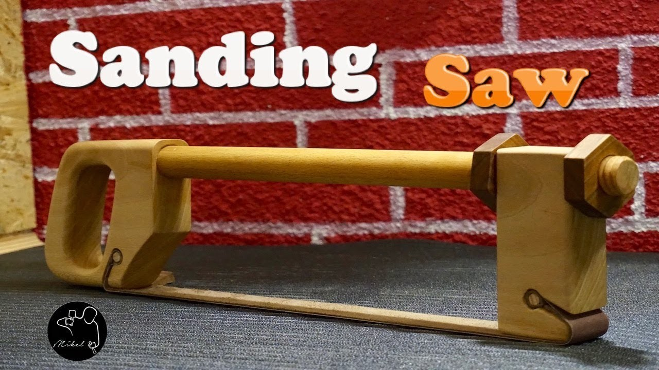 Sanding Saw, How to make