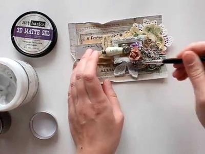 Step-by-step mixed media card tutorial