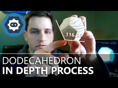 Table Saw Dodecahedron: In-Depth Design and Process