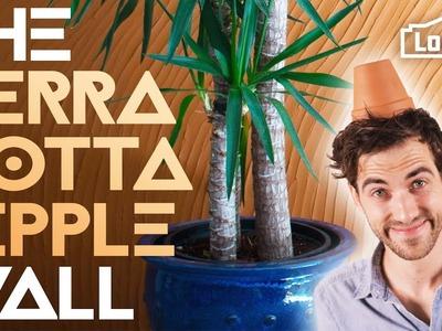 THE TERRA COTTA RIPPLE WALL. Experiment #006