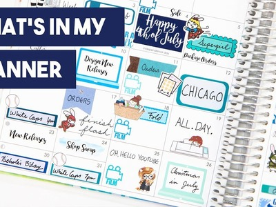 What's In My Planner | September 2017