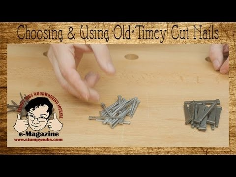 Why cut nails work better- how to choose and use them