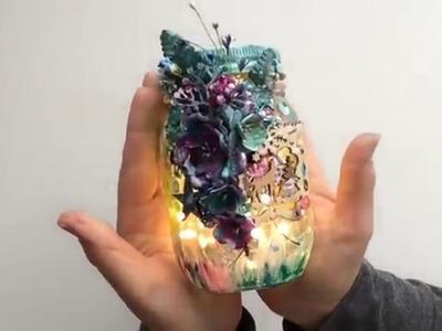 Winter's lantern by Mireille Binet for ColourArte