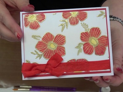 #217  Learn NEW ways to use Alcohol Inks, Embossing Powders and Vellum by Scrapbooking Made Simple