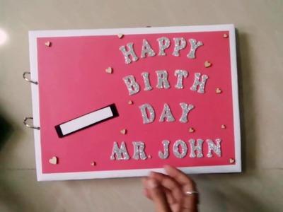 Birthday greeting card . .????????????????????????