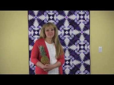 Bloc Loc Rulers How to Series - Pineapple Ruler