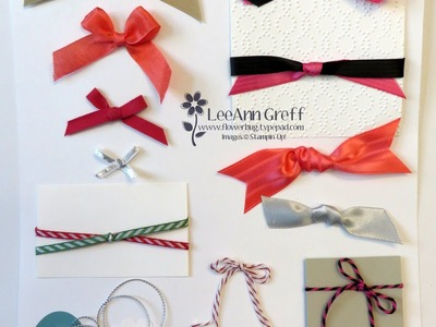 Bow Tying and Ribbon Tips