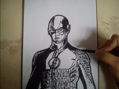 COMO DIBUJAR A FLASH. how to draw flash