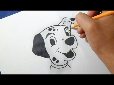 Cómo dibujar Perrito Dalmata | How to Draw dalmatian puppy