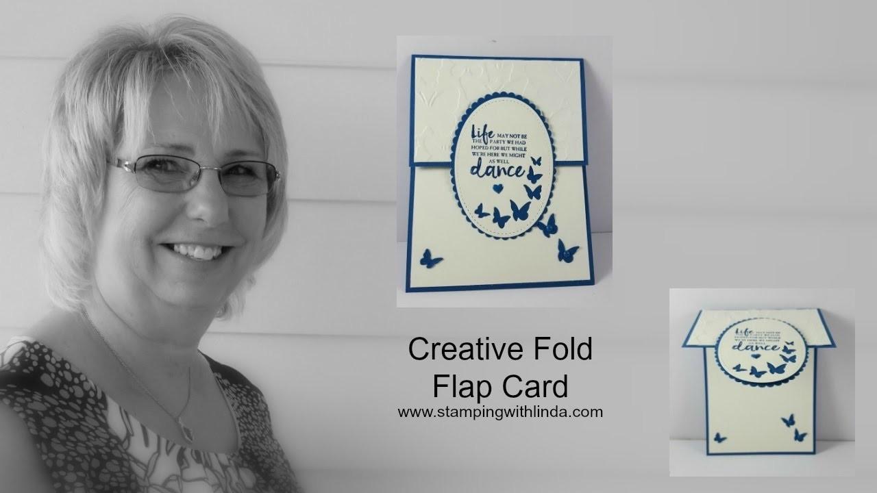 Creative Fold Flap Card