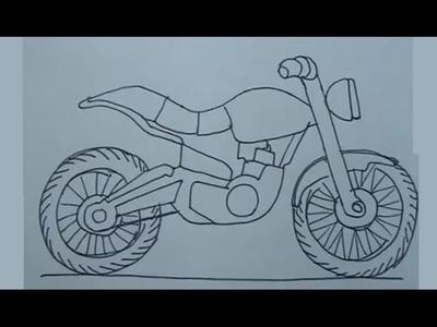 Dibuja motocicletas paso a paso 1.7 - How to draw motocycles