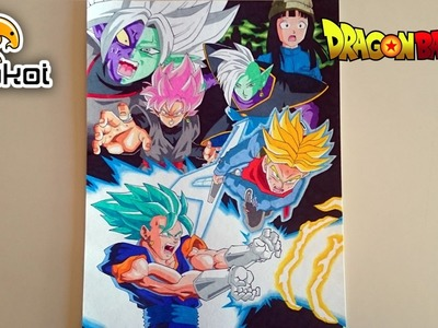 Dibujando la Saga de Black Goku   Drawing Black Goku Saga