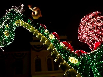 [HD] Main Street Electrical Parade LAST SHOWING EVER 2017 10:45 show - Disneyland park 1080p