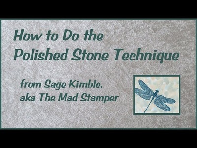How to Do the Polished Stone Technique
