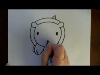 How to Draw a Bear Baby Cartoon Simple Drawing Tutorial for Kids Doodleacademy