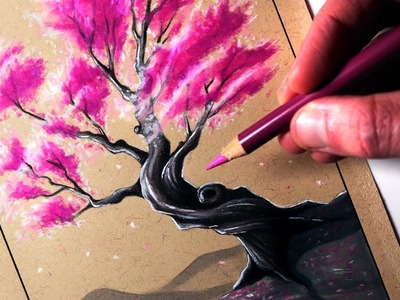 How to Draw a Cherry Tree