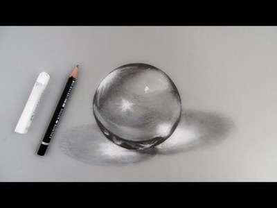How to Draw a Crystal Ball: Narrated step by step