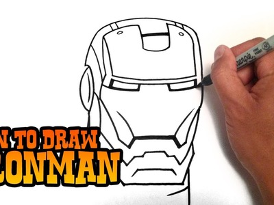 How to Draw Ironman - Step by Step Video