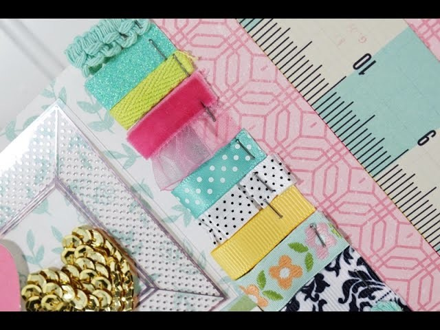 Inspiration Station with Becki Adams (Scrapbooking Process Video)