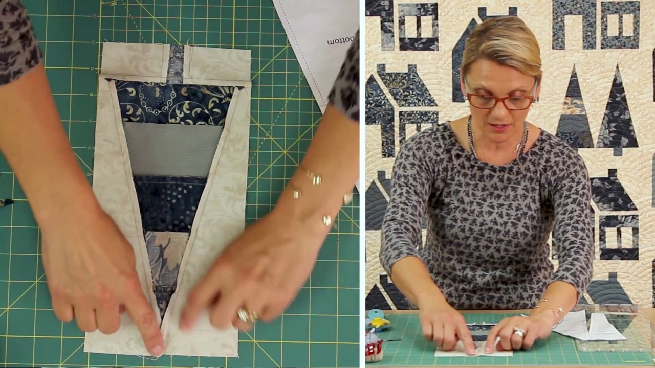 Laundry Basket Quilts - Quilting Window Episode 5: Pines