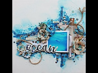 Message in a Bottle Beach Canvas with Robbie Herring