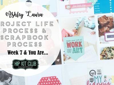 Project Life and Scrapbook Process | Hip Kit Club | May 2017 Kits #4