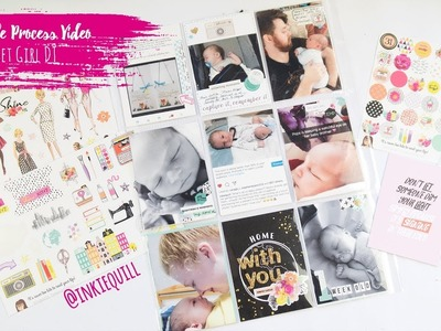 Project Life Process Video ~ The Reset Girl DT Shine Kit + + + INKIE QUILL